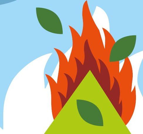 Interdiction du brûlage à l'air libre des déchets verts