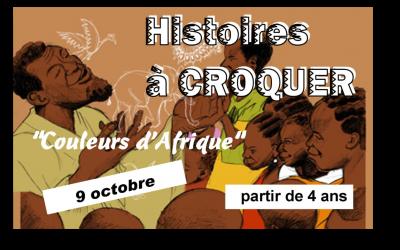 Histoires à croquer «Couleurs d'Afrique»