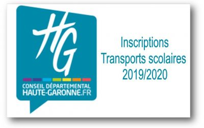 Transports scolaires 2019-2020