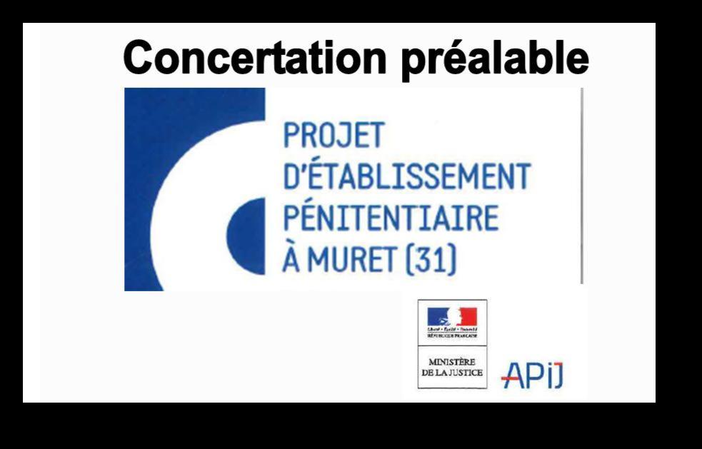 Concertation préalable
