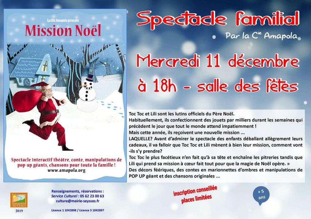 Spectacle Familial Complet Ville De Seysses