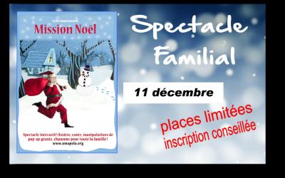 Spectacle familial – 11 décembre
