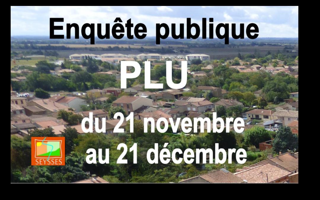 Enquête publique PLU