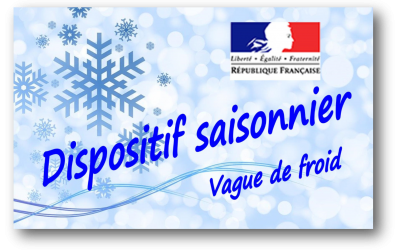 Dispositif saisonnier – Vague de froid