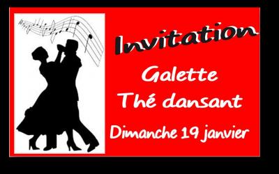 Thé dansant – Galette des aînés