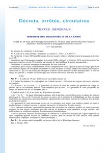 thumbnail of Arrêté complémentaire mesures lutte covid-19 du 20.03.20