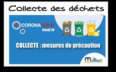 COVID-19// Muretain Agglo // collecte : mesures de précaution