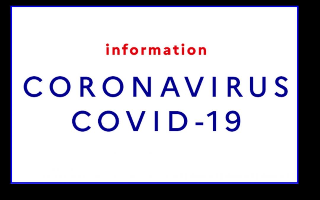 COVID-19 // Informations & mesures sanitaires…