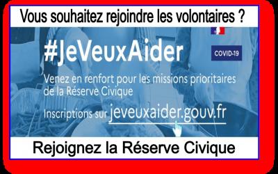 COVID-19 #JeVeuxAider