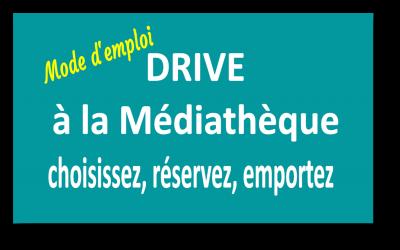 Drive à la médiathèque