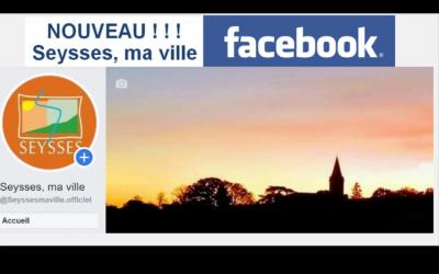 Découvrez la page Facebook de la ville: Seysses, ma ville