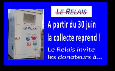 Le Relais//Point de collecte textile