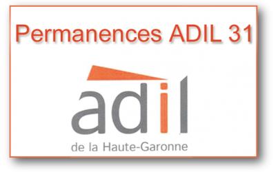 Calendrier permanences ADIL 31