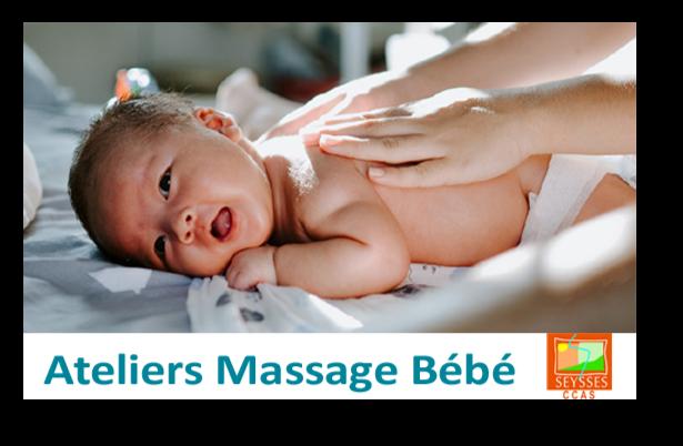 CCAS – Ateliers massage bébé