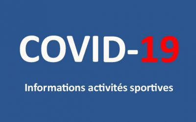 COVID-19 Informations activités sportives