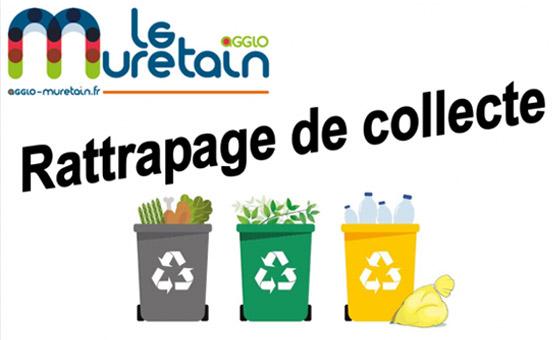 Le Muretain agglo vous informe : collecte des ordures ménagères