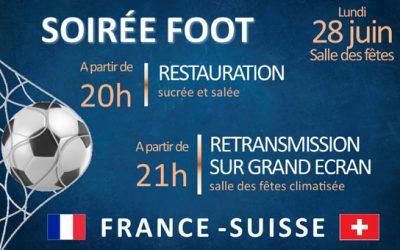 Retransmission Euro 2021 – France/ Suisse