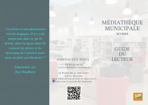 thumbnail of Guide du lecteur Médiathèque Municipale