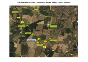 thumbnail of Plan de déviation – OA RD 19 Lamasquère