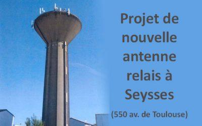 Dossier d'installation d'une nouvelle antenne Mairie par Free sur le château d'eau