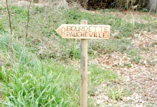 PAJ Chantiers loisirs balisage Bourdette Paucheville fév. 2019