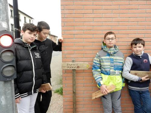 PAJ chantiers loisirs fev 2019 balisage Bourdette Paucheville 41