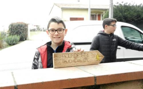 PAJ chantiers loisirs fev 2019 balisage Bourdette Paucheville 45