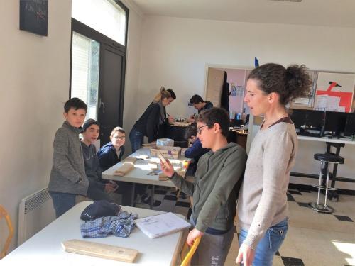 PAJ chantiers loisirs fev 2019 balisage Bourdette Paucheville 67