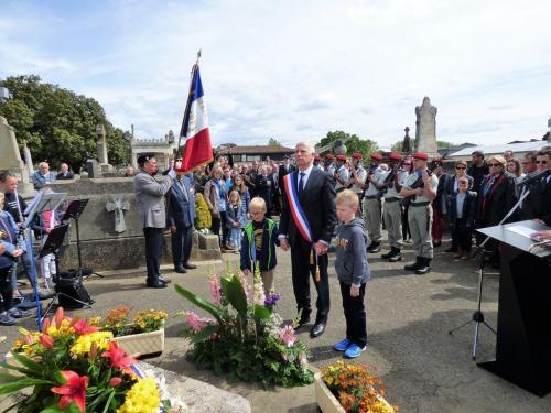Cérémonie commémorative du 8 mai 2019