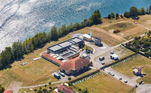 CCAS : PRS Visite de l'usine de production d'eau potable de Roques 15 10 2019