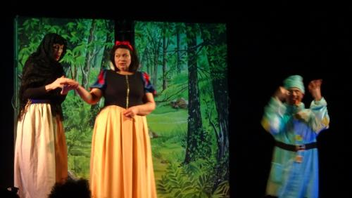 Spectacle blanche neige 01 03 20 13