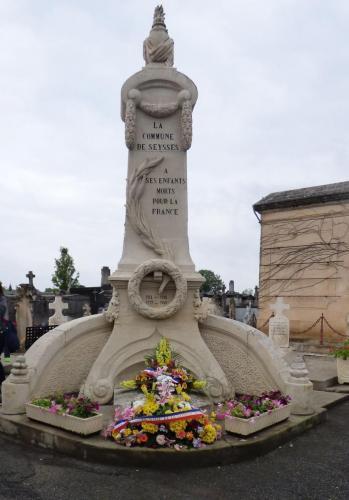 Cérémonie commémorative du 8 mai 2018
