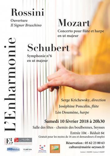 Concert caritatif l'Enharmonie - 10 02 18