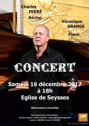 Concert Charles Ferré - 16 12 17